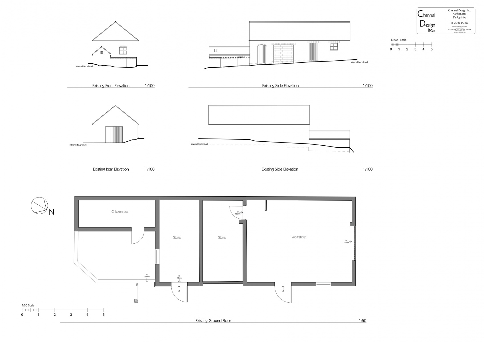 1303-Existing-Plans-and-Elevations